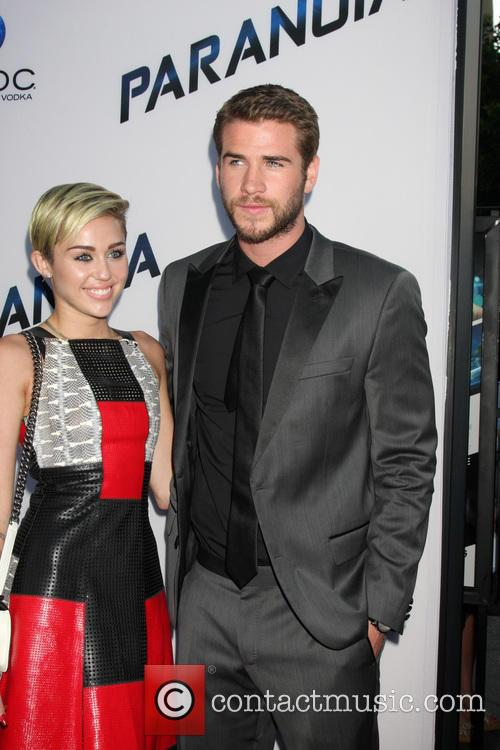 Miley Cyrus and Liam Hemsworth 1