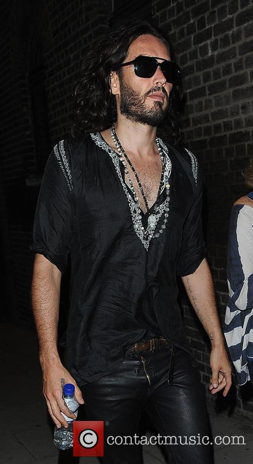 Russell Brand and Barbara Brand Night Out