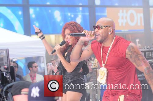 Flo Rida performs at Today show