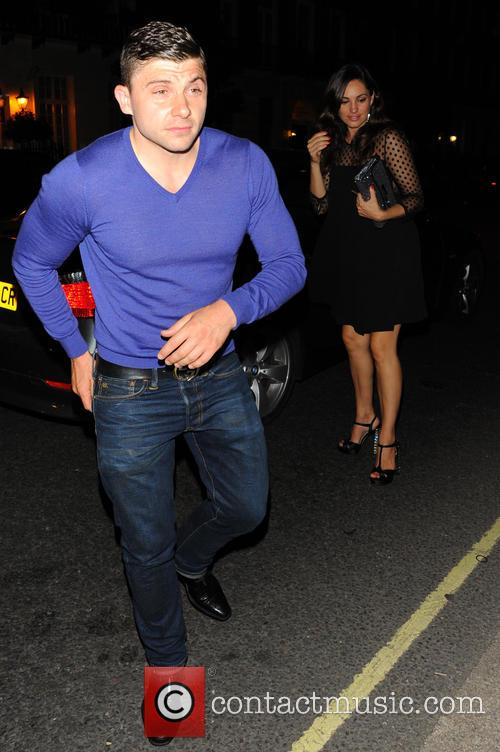 Kelly Brook and Guest 1