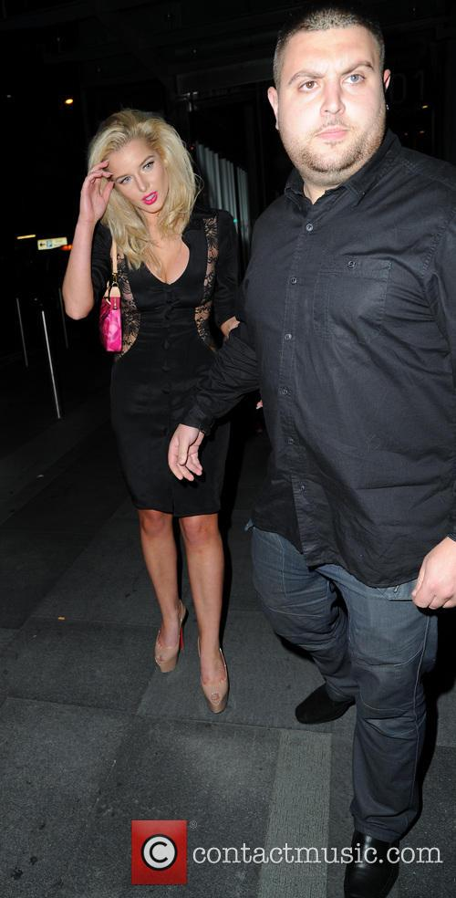 Celebrities arrive for Helen Flanagan's birthday party