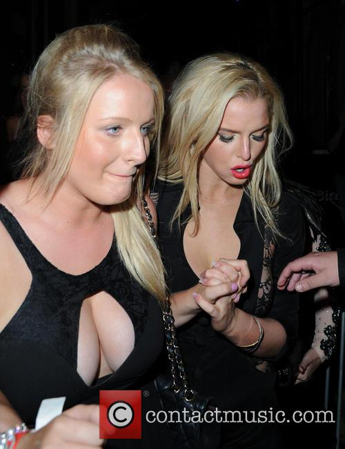 Jessica Flanagan and Helen Flanagan 1