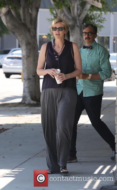 Jane Lynch shops at a furniture store in...