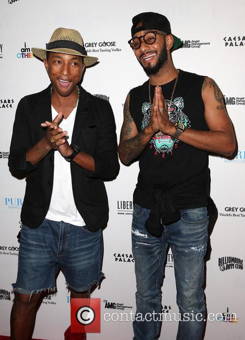 Pharrell Williams and Swizz Beatz 2