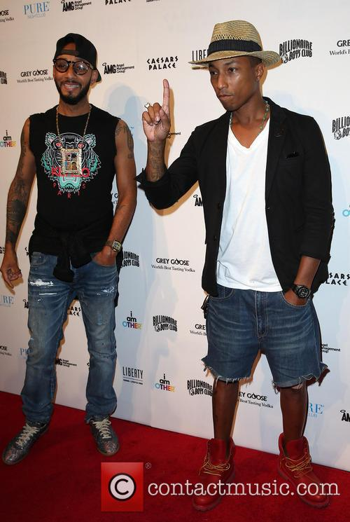 Swizz Beatz and Pharrell Williams 4