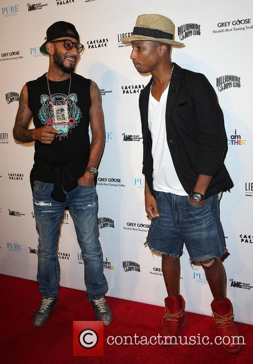 Swizz Beatz and Pharrell Williams 5