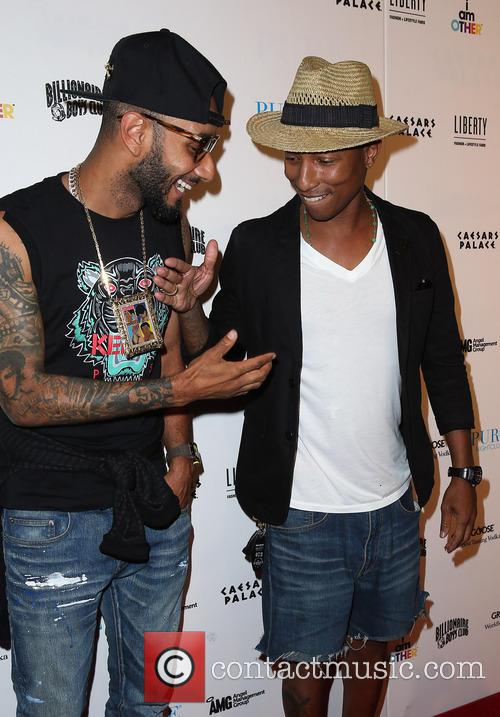 Swizz Beatz and Pharrell Williams 7