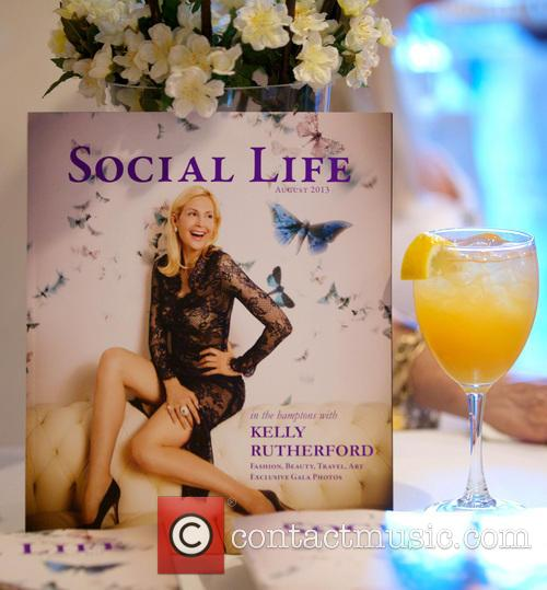 Kelly Rutherford's Social Life Magazine cover party