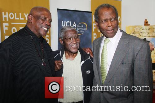 Lou Gossett Jr. and Sidney Poitier 2