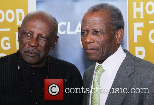Lou Gossett Jr. and Sidney Poitier 1