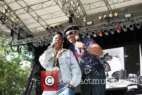 Roxanne Shante and Kangol Kid Of Utfo 2