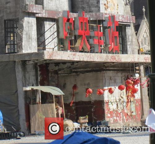 transformers 4 film set pictures of the 3808093