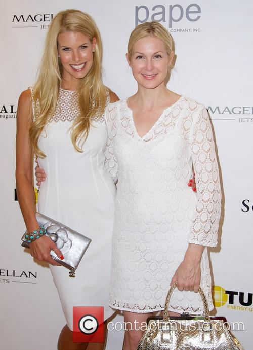 Beth Ostrosky and Kelly Rutherford 5