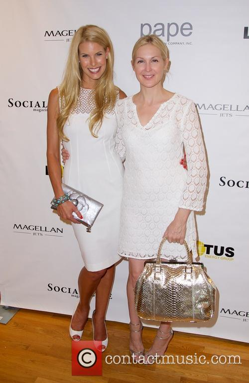 Beth Ostrosky Stern and Kelly Rutherford 1
