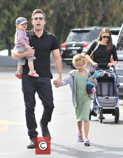 Jennifer Garner and Ben Affleck take a trip...