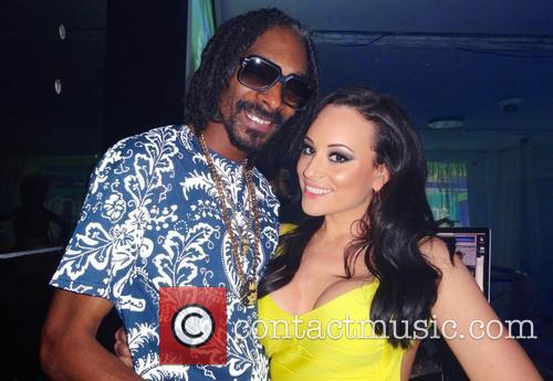 Charlotte Devaney, Snoop Lion and Snoop Dogg 2