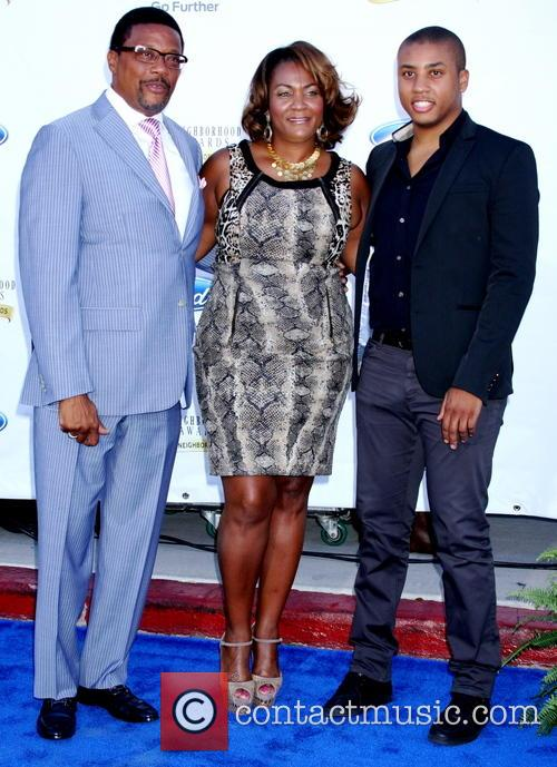 Judge Greg Mathis and Family