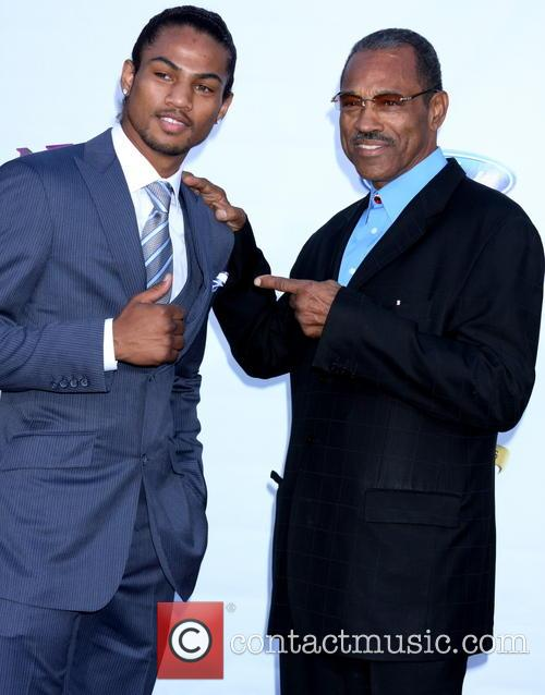 Shane Mosely and dad 1