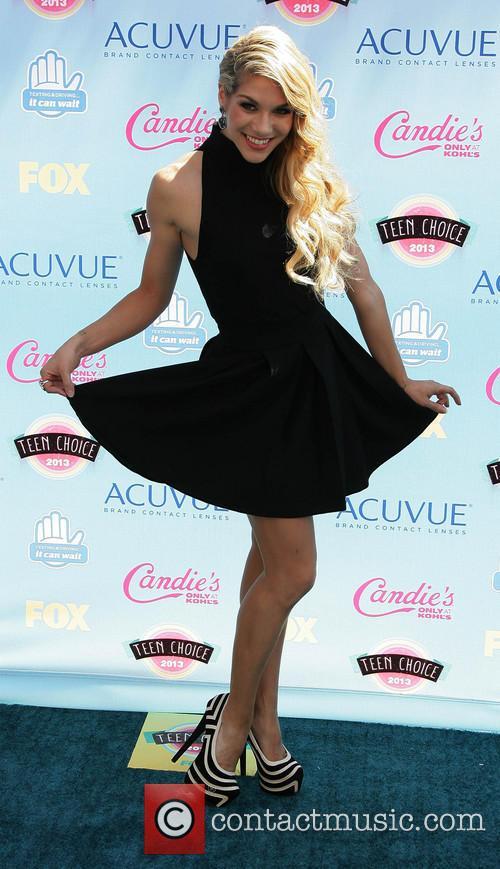 Teen Choice Awards and Allison Holker 2