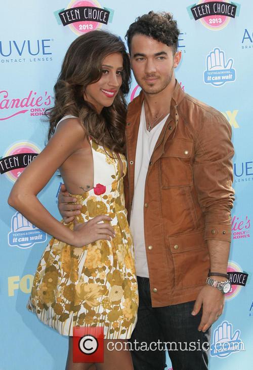 Danielle Deleasa and Kevin Jonas