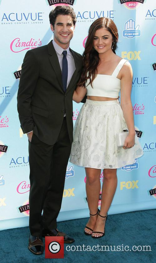 Darren Criss and Lucy Hale 2