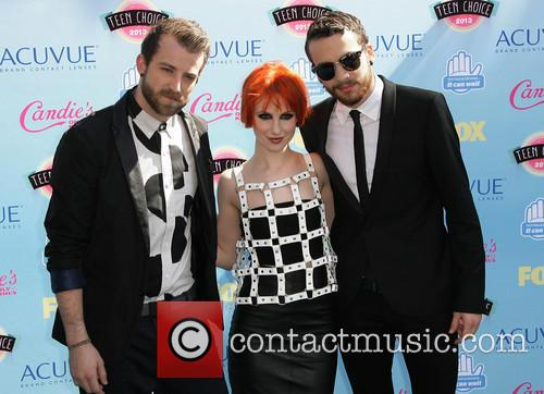 Jeremy Davis, Hayley Williams and Taylor York Of 'paramore' 7