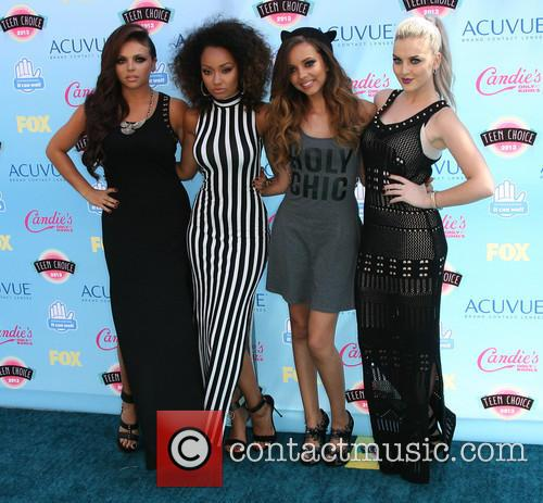 Perrie Edwards, Jesy Nelson, Leight-anne Pinnock, Jade Thirlwall, Little Mix and Teen Choice Awards 1