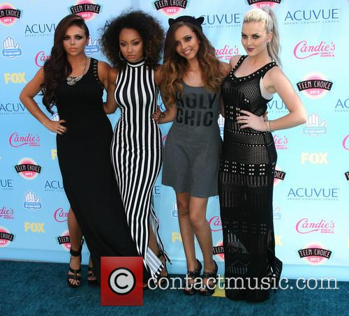 Perrie Edwards, Jesy Nelson, Leight-Anne Pinnock, Jade Thirlwall, Little Mix, Teen Choice Awards, Gibson Amphitheatre