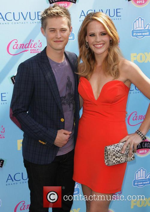 Katie Leelerc and Lucas Grabeel