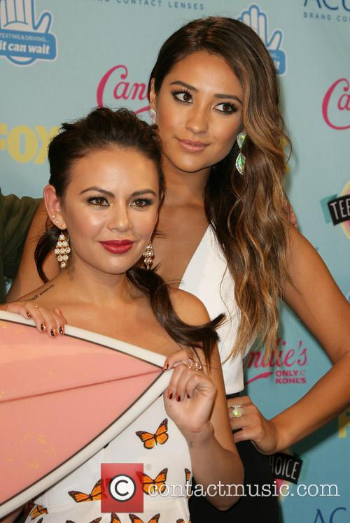 Janel Parrish and Shay Mitchell 2