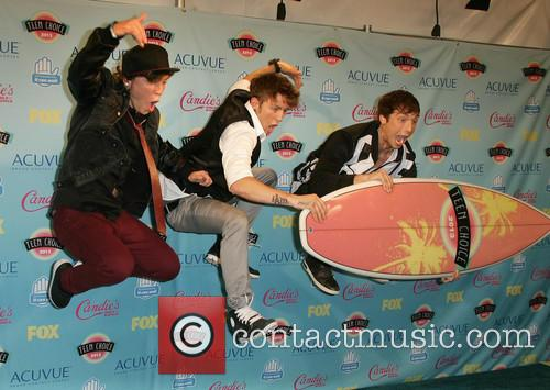 Teen Choice Awards, Keaton Stromberg, Drew Chadwick and And Wesley Stromberg Of 'emblem3' 8