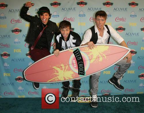 Teen Choice Awards, Keaton Stromberg, Drew Chadwick and And Wesley Stromberg Of 'emblem3' 1