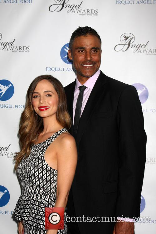 eliza dushku rick fox angel awards 2013 presented 3808011
