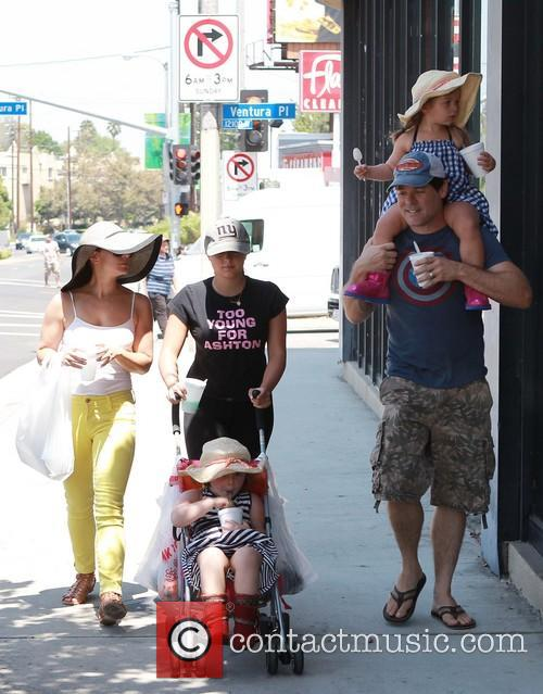 Ariel Winter at the Farmers Market with Sister Shanelle Gray
