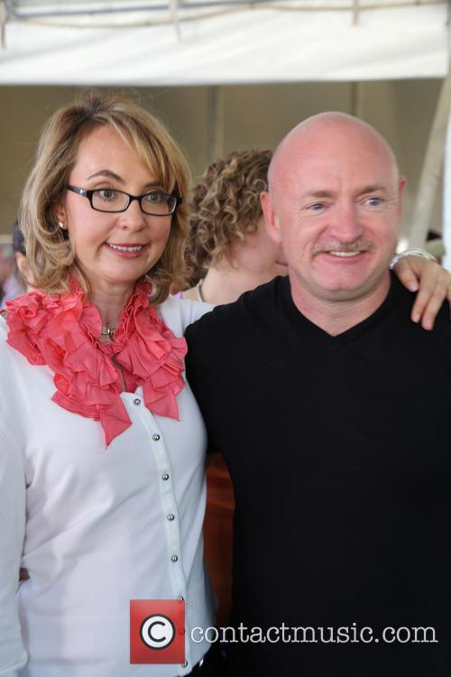 Gabrielle and Mark Kelly 6