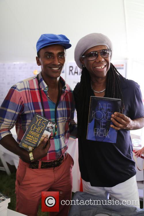 Marcus Samuelsson and Nile Rodgers 5