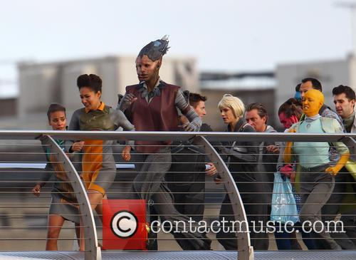 Zoe Saldana, Millennium Bridge