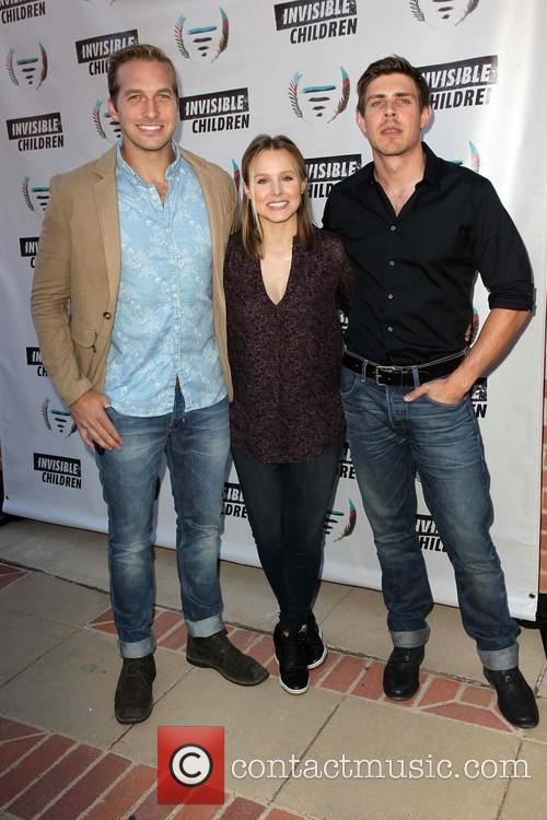 Ryan Hansen, Kristen Bell, Chris Lowell, Invisible Children Event