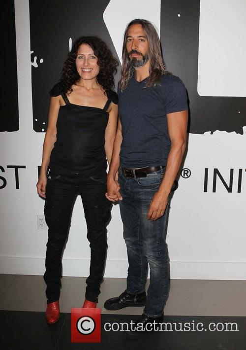 Lisa Edelstein and Boyfriend 4