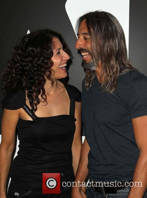 Lisa Edelstein and Boyfriend 10