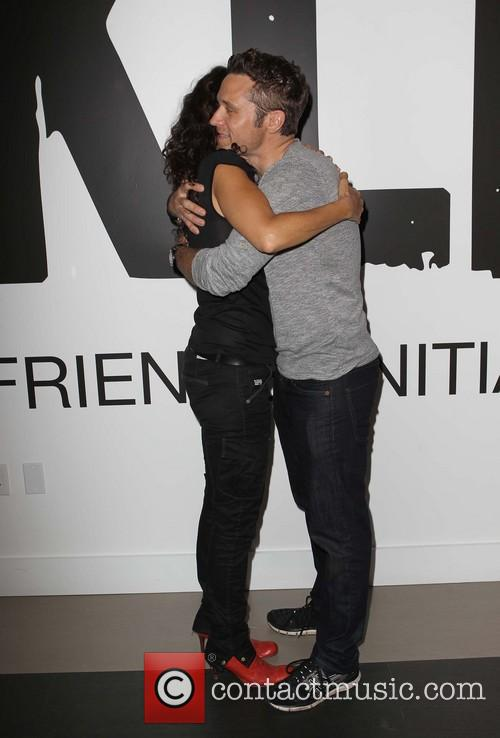 Lisa Edelstein and Seamus Dever 3
