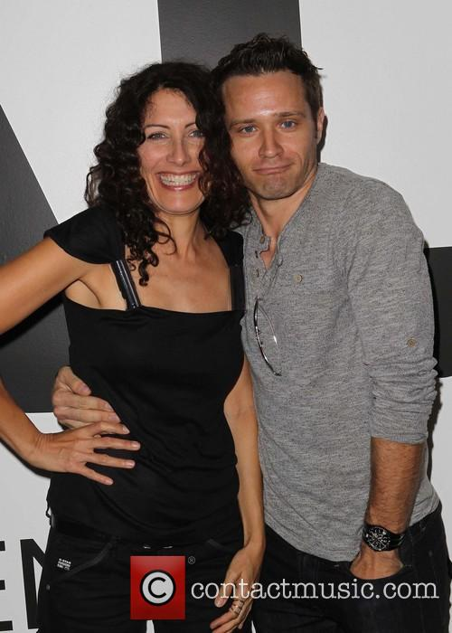 Lisa Edelstein and Seamus Dever 11