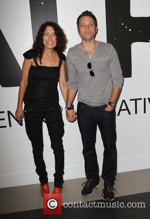 Lisa Edelstein and Seamus Dever