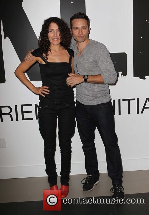 Lisa Edelstein and Seamus Dever 5