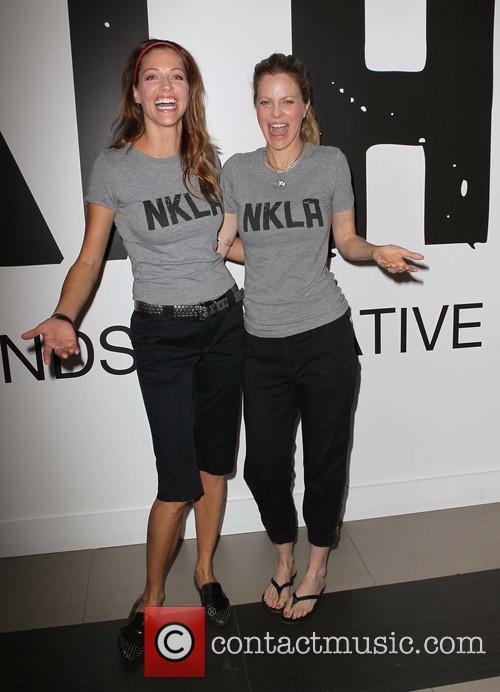 Tricia Helfer and Kristin Bauer Van Straten 2