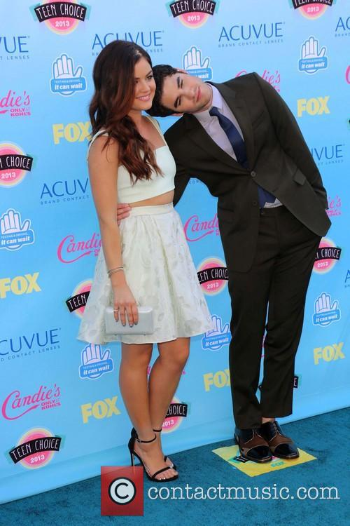 Lucy Hale and Darren Criss 6
