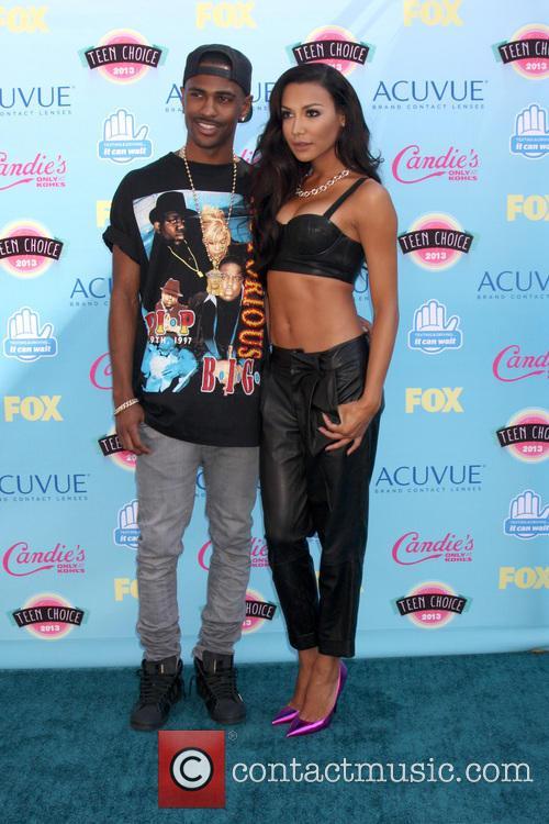 Big Sean and Naya Rivera 1