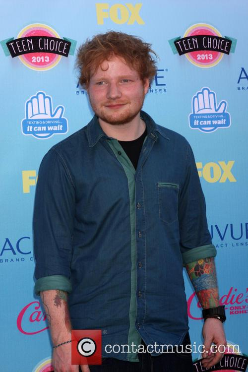 Ed Sheeran, Gibson Ampitheater