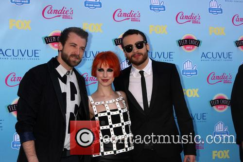 Paramore, Jeremy Davis, Hayley Williams and Taylor York 1