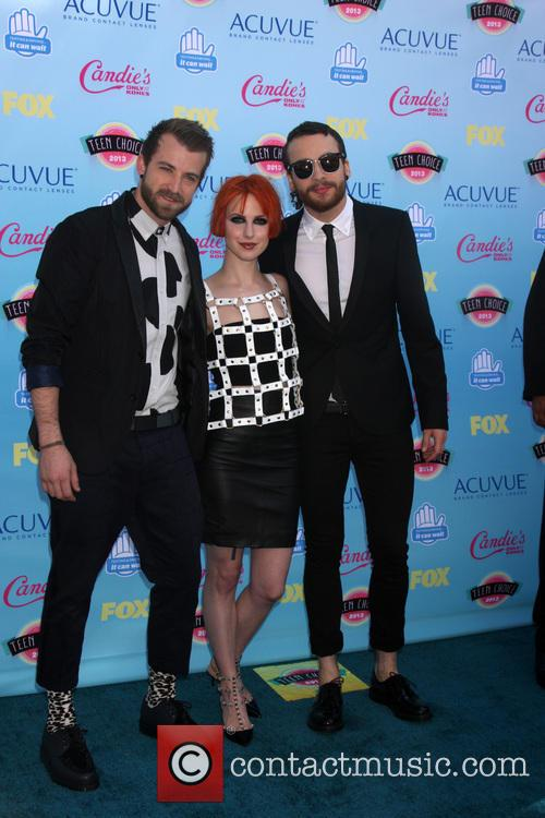 Paramore, Jeremy Davis, Hayley Williams and Taylor York 2